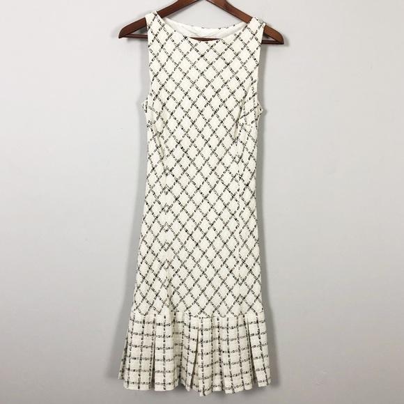 Zara Dresses & Skirts - Zara Tweed sleeveless midi Dress